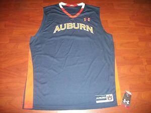 timeless design 1ba66 8d912 NWT Auburn Tigers Under Armour Basketball Shirt Size XL | eBay