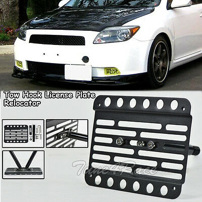 Multi Angle Tow Hook License Plate Holder 2005-2010 Scion tC