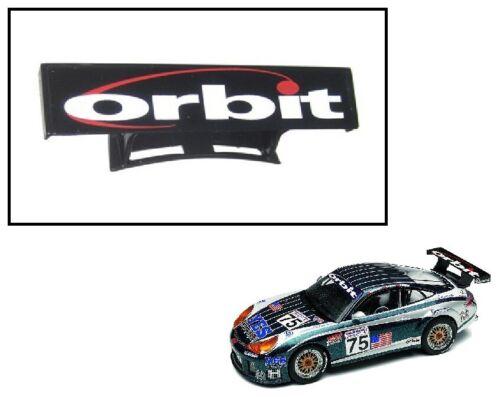 NEW Scalextric W8659 Rear Wing Spoiler For Porsche 911 996 GT3R Orbit C2480