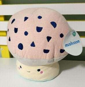 Kmart-Mushroom-Children-039-s-Plush-Toy-with-Swing-Tag-23cm-Tall