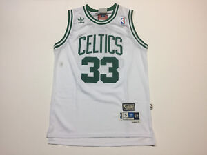 1bf14852 Men's Boston Celtics #33 Larry Bird White Hardwood Classics ...
