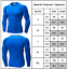 Mens Compression Base Layer Long Sleeve Tight Tops Sport Training Muscle T-shirt