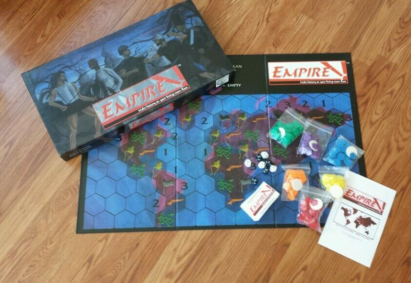 Empire (Board Game) strategy economy Alternate Reality Games VERY RARE & OOP