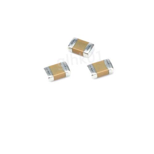 50pc 0603 1PF-22UF SMD SMT Ceramics Capacitor Surface Mount Chip Capacitors MLCC