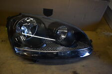 VW GOLF  MK5  RIGHT IDE HEADLIGHT GENUINE P/N 1K6941006 BLACK TYPE 2007