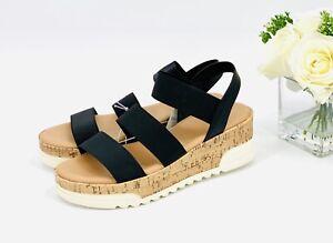 cork bottom platform sandals