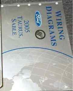 2005 FORD TAURUS & MERCURY SABLE Electrical Wiring Diagram ...  Ford Taurus Wiring Diagram on