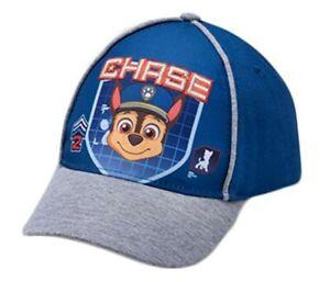 Paw-Patrol-Chase-azul-del-nino-chicos-Beisbol-Sombrero-Nuevo