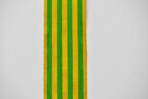 Ruban-de-la-medaille-commemorative-du-Tonkin-tissage-ancien