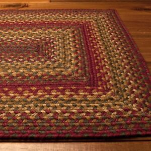 Homespice-Decor-Jute-Braided-Area-Rug-Cider-Barn-Red-Green-Tan