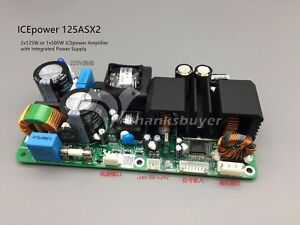 Details about ICEPOWER Power Amplifier Board ICE125ASX2 120WX2 Dual Channel  Audio Amp Module