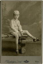 Allround-Sportler, Orig.-Kabinett-Photo von 1908