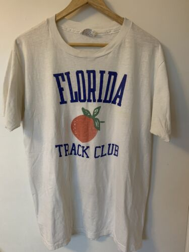 1970's - 1980's Florida Track Club T Shirt