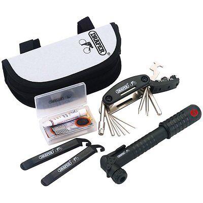 Bicycle Puncture Bike Multi Tool Repair Kit Draper 73186 Cycle Pump Tyre Lever