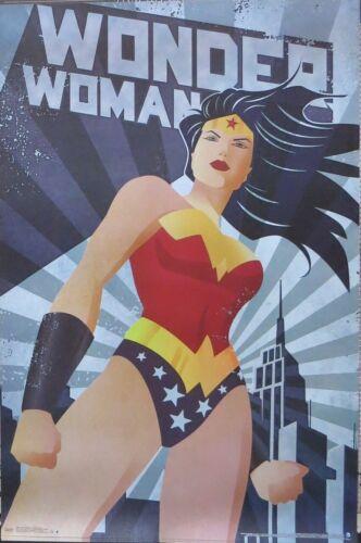 DC Comics Poster-Laminated Available-86cm x 57... Wonder Woman Constructivism