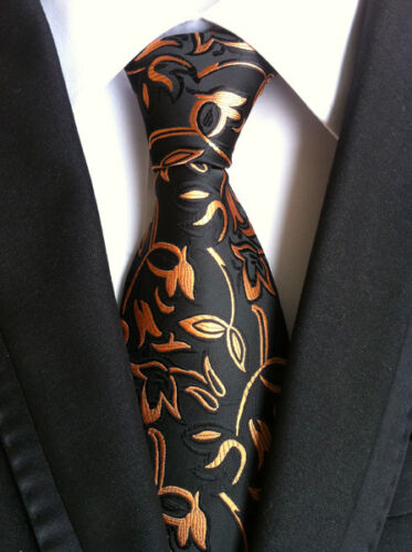 Classic Mens Silk Ties Necktie Neck Tie Jacquard Woven Geometric Western Paisley