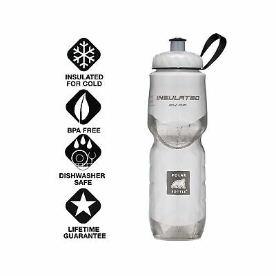 20-Ounce, White Polar Bottle Insulated Water Bottle