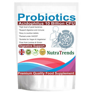 Probiotic-Acidophilus-10-Billion-live-cultures-60-Tablets-Uk-Made