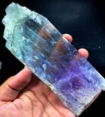 Natural Kunzite Crystal 54*26*16 mm Bi Color Kunzite Natural Stone from Afghanistan 47 Gram