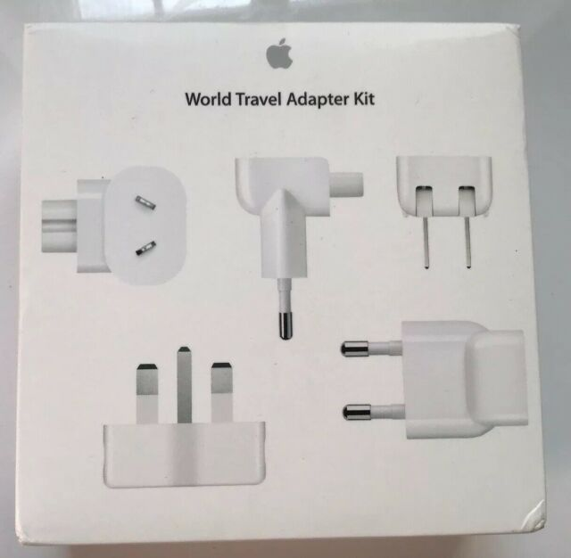 Genuine Apple World Travel Mains Adapter Kit Plugs MD837ZM/A