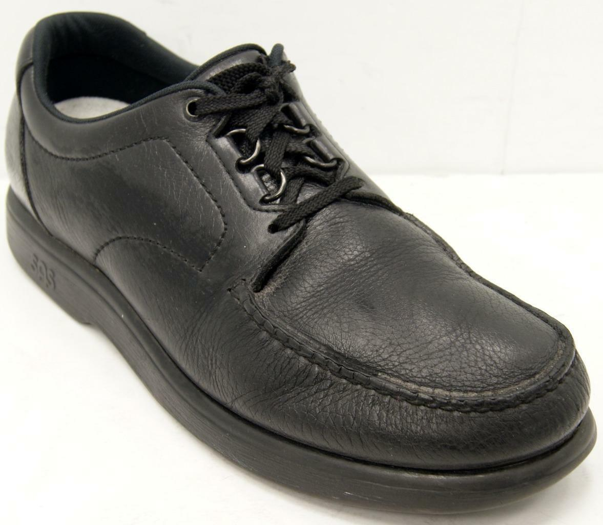 SAS Bout Time Black Leather Oxford Comfort  Men's Shoes Sz 13.5 M