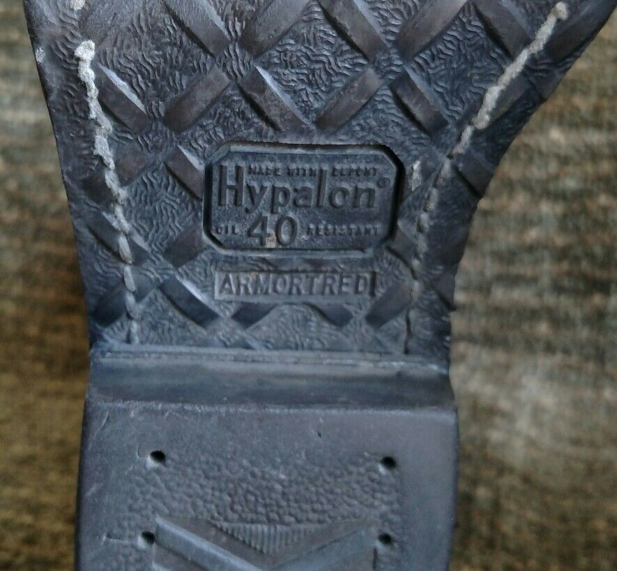 Vintage Brauning schwarz & dark Braun Größe distressed Leder cowboy Stiefel Größe Braun 8 D 46135a