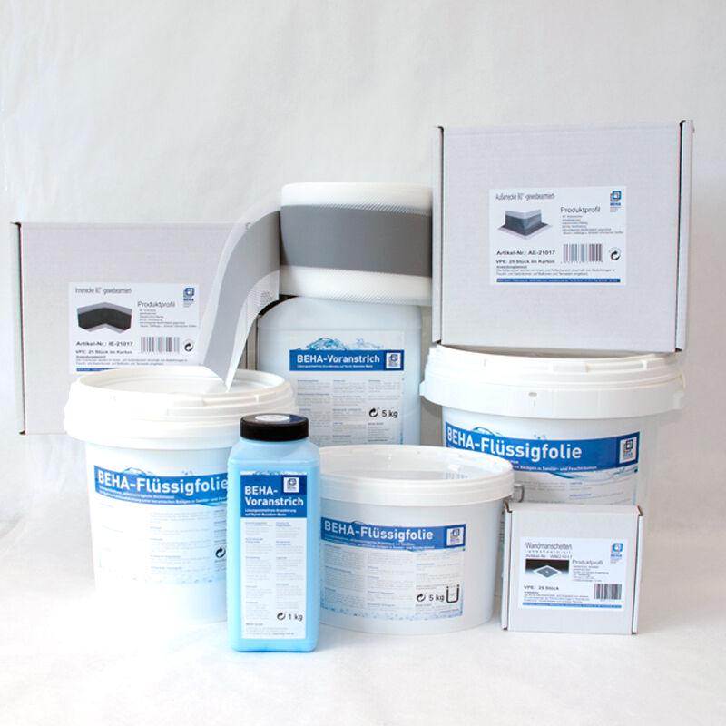 Abdichtband Dichtband Flüssigfolie Grundierung Abdichtung Sanitär u. Feuchträume