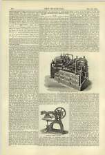 1884 Haslam Dry Air Refrigerator Podger Ironing Machine