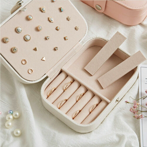 Bridesmaid Gift Stocking Filler Mum Nan Personalised Jewellery Box Travel Case