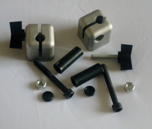 MGF MGTF MG WIND STOP WINDSTOP BLACK CLAMP FITTING KIT WITH FREE DRILL TEMPLATE