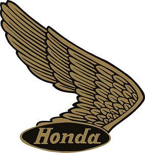 Image Is Loading K150 4 5 034 Honda Vintage Logo Decal
