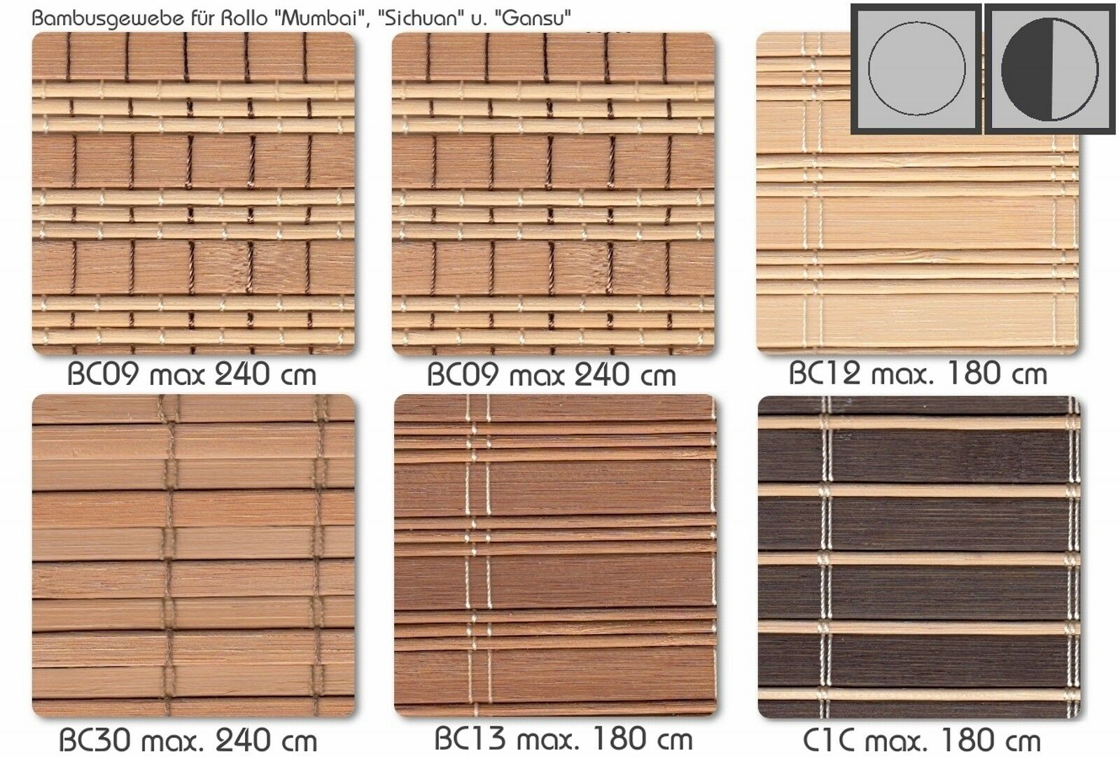 BAMBUSROLLO NRU NRU NRU Rollo mit Blende Bambus Maßanfertigung Maßrollo Holzrollo Rollup | Neuer Stil  f3bdbb