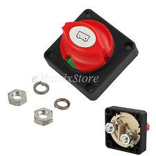 MARINE REMOVABLE KNOB Battery Isolator Switch Cut off Power Kill Switch 12v/24v