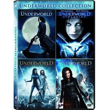 Underworld: Kate Beckinsale Fantasy Horror Movies 1 2 3 4 Box / DVD Set NEW!