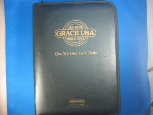 GRACE USA  GCT-17 GUNSMITH SET 17pc HAMMER PUNCHES SCREW DRIVERS IN NUKAF CASE!!