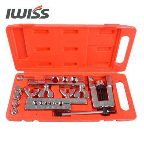 "Iwiss 1//8 de pulgada a 3//4 /""o.d.tubing Quema /& Estampar Kit de herramientas para suave Tubo De Cobre"