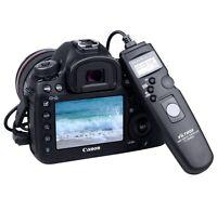 LCD Timer Shutter Release Remote for CANON 1000D/550D/500D/450D/650D/60D/350D...
