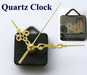 2pcs-Quartz-Clock-Movement-Mechanism-Gold-Hands-DIY-Replace-Repair-Parts-Kit