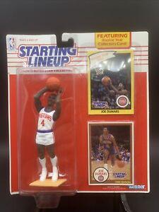1990 Joe Dumars - Starting Lineup (SLU) - Detroit Pistons HOF - NIB - See Cards!