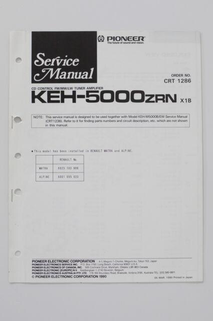 Pioneer Keh Instruction  Wiring Diagram  O58