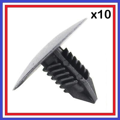 Lot de 10 clips fixation garniture passage de roue 7703077435