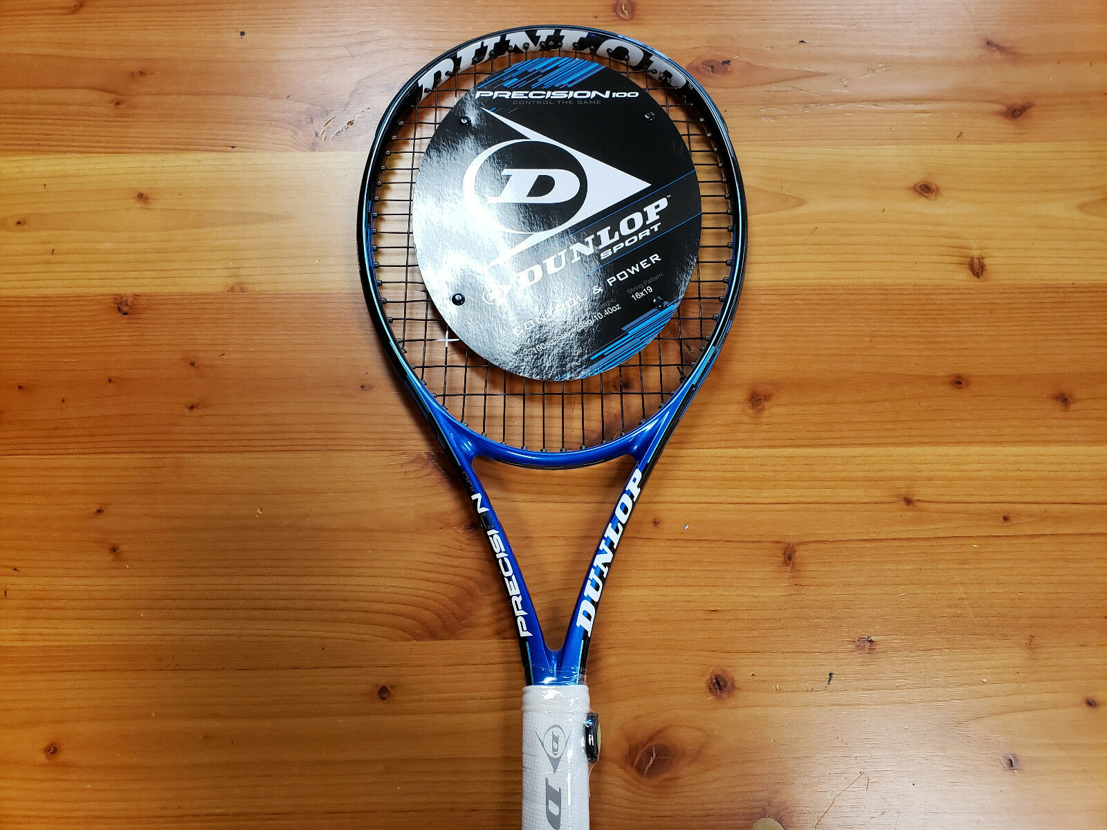 Dunlop Precision 100 Tenis Raqueta Agarre 4 _ 3 8