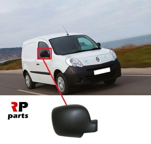 Pour Renault Kangoo W 08-13 Front Wing Mirror Cover Cap Noir Texture Droit O//S