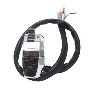 Moto-Interruttore-Elettrico-Manubrio-Corno-Frecce-Luce-Controllo-per-22mm