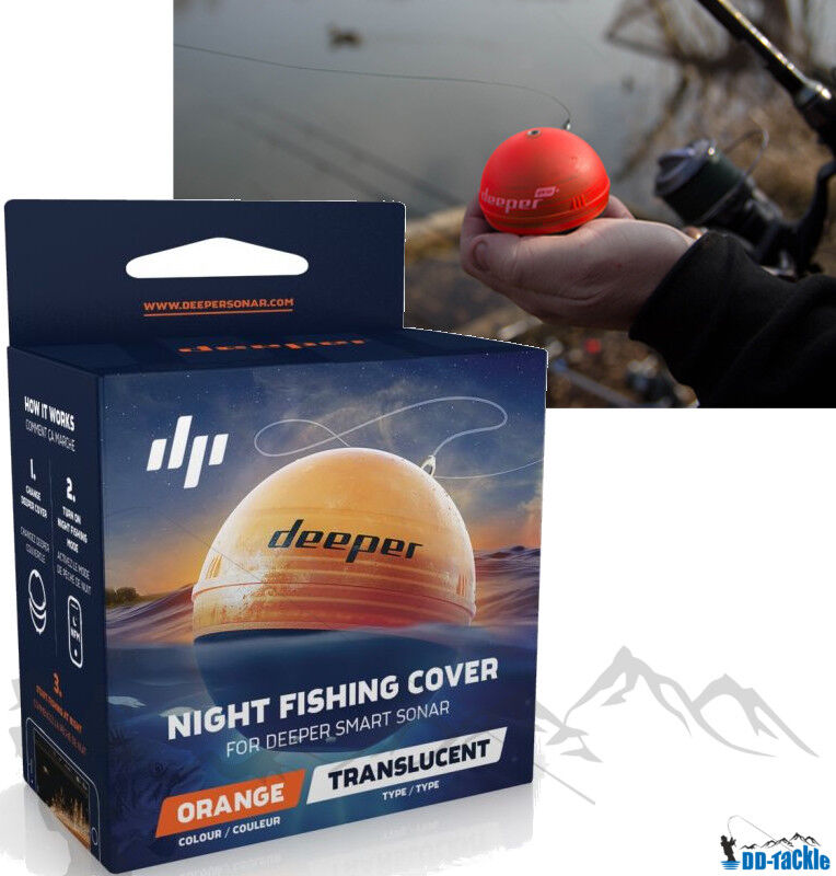 Deeper Smart Smart Smart Sonar Pro SET Wifi + Smartphone Halterung + Night Fishing Cover 636394