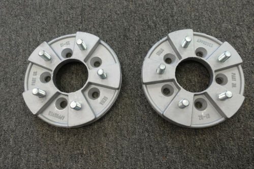 New Pair Small to Big Bolt Pattern Mopar Wheel Adapters 5 on 4 to 4.5 Dart SBP