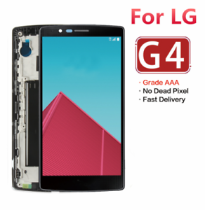 For-LG-G4-H810-H811-H815-VS986-LS991LCD-Touch-Screen-Digitizer-Assembly-Frame-RH
