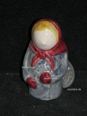Goebel Porzellan & Keramik # A011913_15 Goebel Archiv Plombe Miniatur Unsere Kleine Stadt Tante 13-809 Hell In Farbe WohltäTig