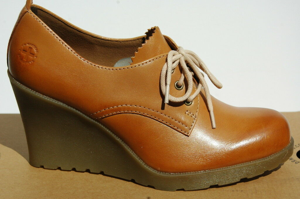 Dr Martens Mimi Elevate shoes Femme 41 Escarpins Tan Richelieu Wedge UK7