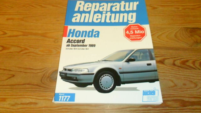 Reparaturanleitung Honda Accord ab 1989 alle Modelle  2.0/2.0i/2.2 Liter Wie NEU